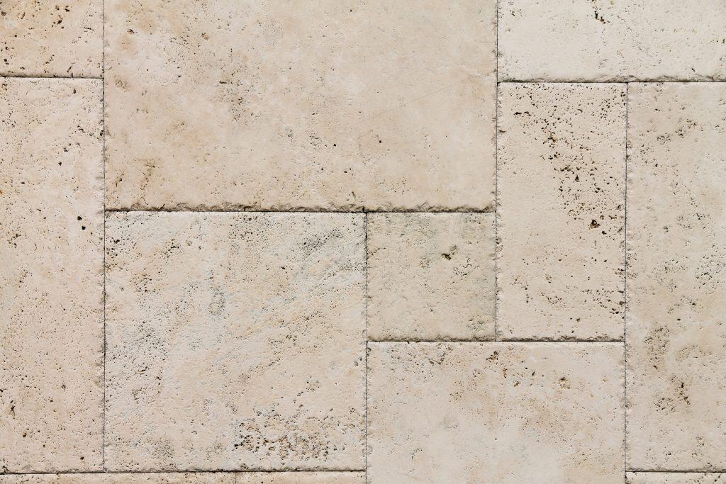 Italian Travertine stone flooring