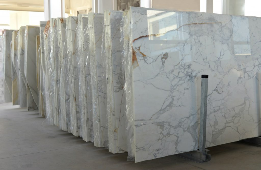 what does marble look like?