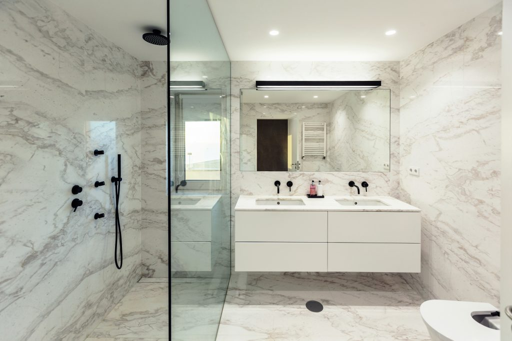 Marble Shower Floors