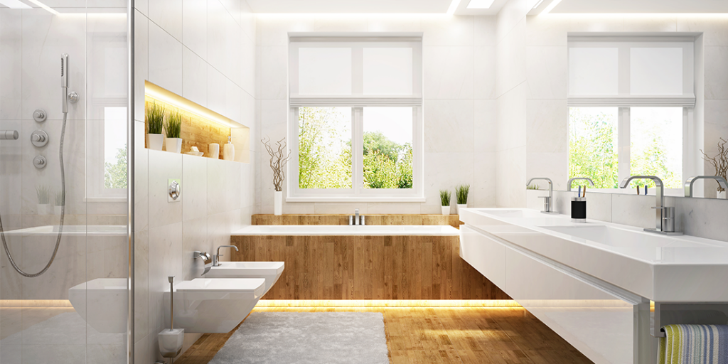 8 Ways to Make Any Bathroom Look (and feel) bigger